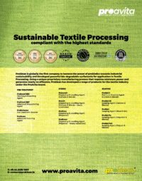 Textile Processing, Waste Water Management